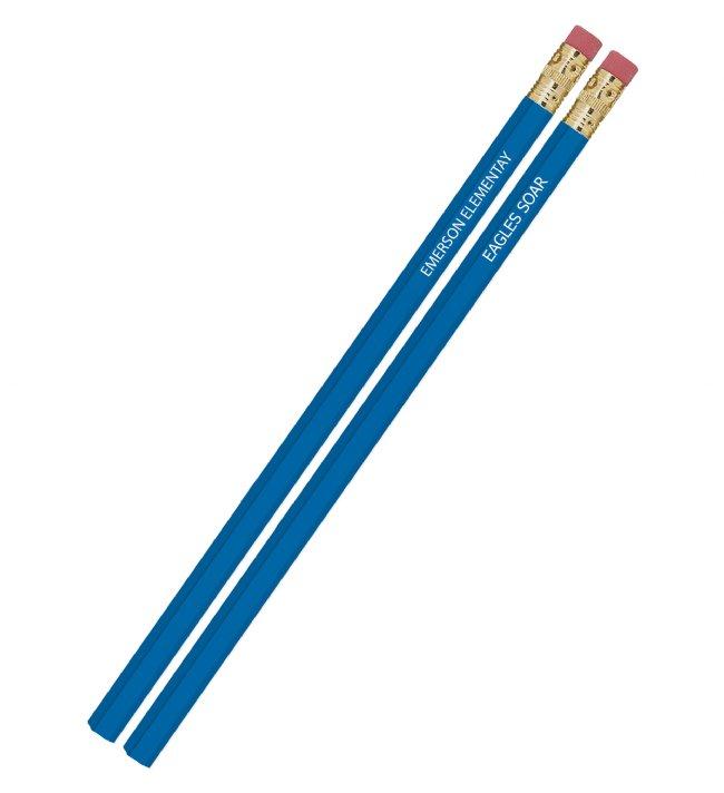 Custom Hex Pencils 2 Or 3 Line